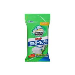 【商品説明】●洗剤付きブラシは、トイレットペーパーのように分解する素材でできているので、トイレに流す...
