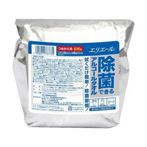 大王製紙/エリエール除菌できるアルコールタオル詰替400枚/733117|jetprice