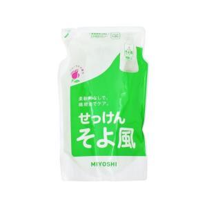 ミヨシ石鹸/液体せっけん そよ風 詰替用 1000ml|jetprice