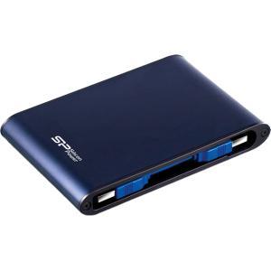 シリコンパワー/防水ポータブルHDD500GB/SP500GBPHDA80S3B|jetprice