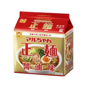 東洋水産/マルちゃん正麺 醤油味 5食パック|jetprice