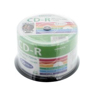 ハイディスク/CD-R 700MB 52倍速 50枚 スピンドル入|jetprice