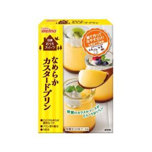 日清フーズ/お菓子百科 なめらかカスタードプリン 55g|jetprice