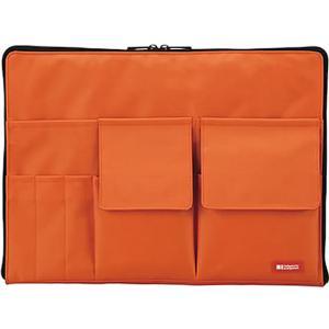 リヒトラブ/バッグインバッグ A4 橙/A-7554-4|jetprice
