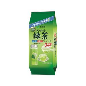 伊藤園/ワンポット緑茶ティーバッグ 34袋