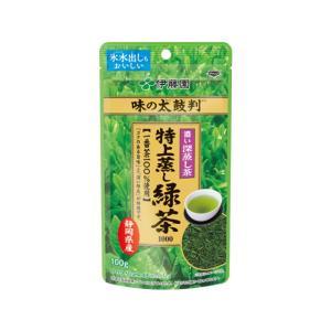 伊藤園/味の太鼓判 特上蒸し緑茶1000  100g