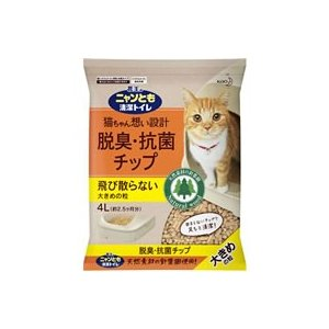 KAO/ニャンとも清潔トイレ脱臭・抗菌チ...