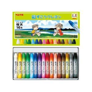 ぺんてる/ずこうクレヨン 16色/PTCG1-16の商品画像