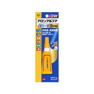 コニシ ボンドアロンアルファEXTRA ゼリー状スリム 4g #05273の商品画像|ナビ