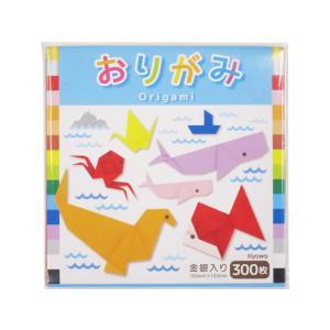協和紙工/おりがみ NO.700 金銀入 300枚/オ-303|jetprice