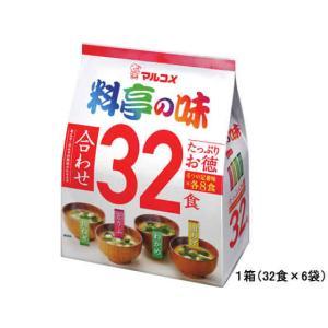 マルコメ/たっぷりお徳 料亭の味 32食×6袋|jetprice