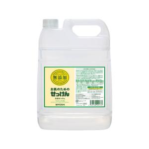 ミヨシ石鹸/お肌のための洗濯用液体せっけん 5L|jetprice