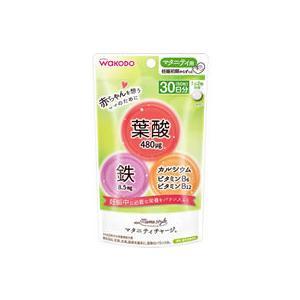 【商品説明】1日2粒で妊娠期に大切な栄養素の葉酸480μg、鉄8.5mg、カルシウム130mgを摂取...