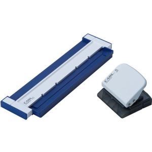 カール事務器/ゲージパンチ A5長辺 20穴 ブルー/GP-20-B|jetprice