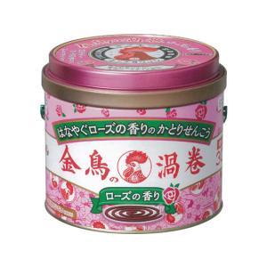 【仕様】金鳥の渦巻に、天然ローズオイルをプラスし、上質で心地よい香りを実現。はなやぐローズの香りで、...