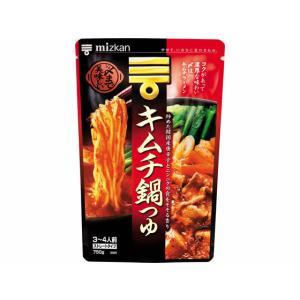 ミツカン/〆まで美味しいキムチ鍋つゆ ストレート 750g...