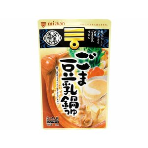 ミツカン/〆まで美味しいごま豆乳鍋つゆストレート750g jetprice