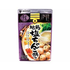 【仕様】地鶏・帆立・昆布・椎茸の4つのだしを合わせた、あっさりしていてコクがある、地鶏塩ちゃんこ鍋つ...