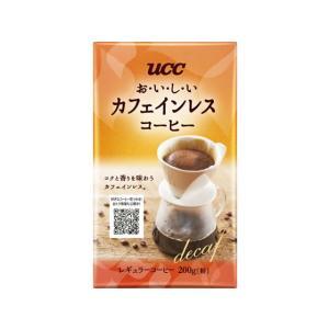 UCC/おいしいカフェインレスコーヒー VP200g|jetprice