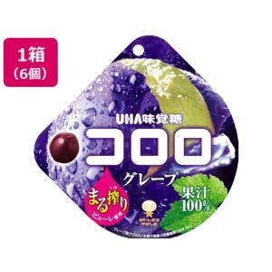 UHA味覚糖/コロロ グレープ 6個入/63315
