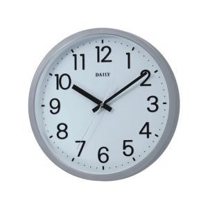 リズム時計/DAILY フラットフェイスDN シルバー/4KGA06DN19|jetprice