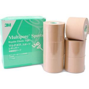 3M/マルチポア レギュラー伸縮固定テープ 50mm 6巻/2743-50