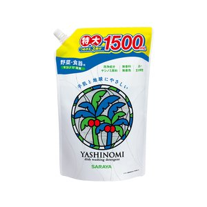 サラヤ/ヤシノミ洗剤 スパウト詰替用 1500ml
