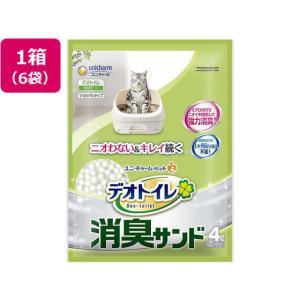 ユニチャームペットケア/デオトイレ取りかえ専用消臭サンド 4L*6袋|jetprice