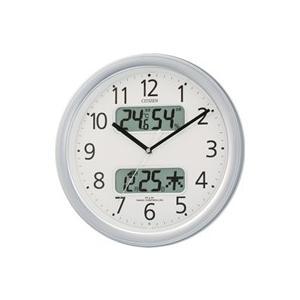 リズム時計/シチズン 電波時計カレンダーM/4FYA01-019|jetprice