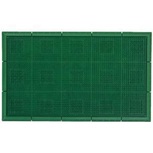 山崎産業/エバック サンステップマット 600×900mm グリーン/F-131-6|jetprice