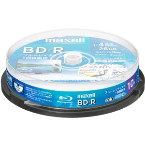 マクセル/録画用BD-R 1回録画25GB 1~4倍速 10枚スピンドルケース|jetprice