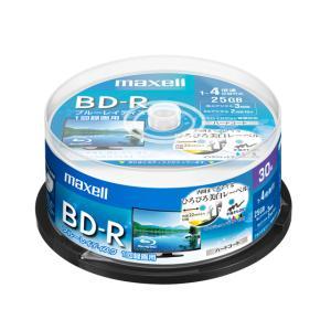 マクセル/録画用BD-R 1回録画25GB 1~4倍速 30枚スピンドルケース|jetprice
