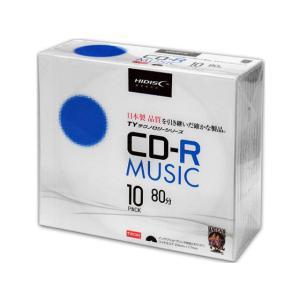 HIDISC/TYシリーズCD-R音楽用 80分 48倍速 10枚|jetprice