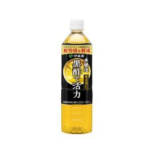 伊藤園/黒酢で活性 もろみ酢プラス 900ml|jetprice