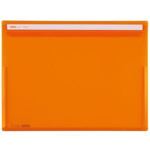 セキセイ/アクティフV フリップファイル A4ヨコ オレンジ/ACT-5901-51