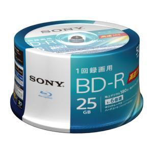 ソニー/1回録画ブルーレイディスク 25GB 6倍速 50枚/50BNR1VJPP6|jetprice