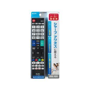 朝日電器/テレビリモコン シャープ用/RC-TV009SH|jetprice