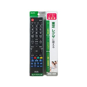 朝日電器/テレビリモコン 東芝用/RC-TV009TO|jetprice