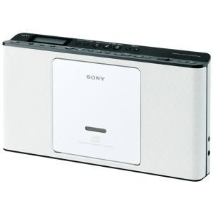 ソニー/CDラジオ ホワイト/ZS-E80 W|jetprice