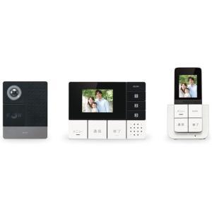 朝日電器/ワイヤレステレビドアホン モニター&ポータブル/DHS-TMP2320|jetprice