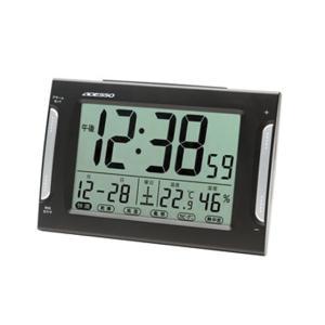 アデッソ/ダブルアラーム電波時計/DA-33|jetprice