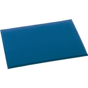 テラモト/テラクッション極厚 ブルー 750×900/MR-069-042-3|jetprice