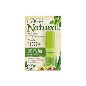 ロート製薬/メンソレータム リップベビー ナチュラル リッチゆずの香り 4g|jetprice