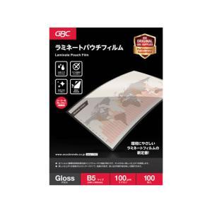 アコ・ブランズ・ジャパン/パウチフィルム B5サイズ 100枚/YP100B5Z|jetprice