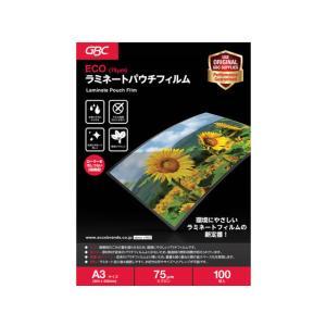 アコ・ブランズ・ジャパン/ECOパウチフィルム 75ミクロン A3/YV075A3Z|jetprice