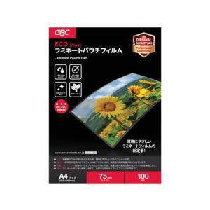 アコ・ブランズ・ジャパン/ECOパウチフィルム 75ミクロン A4/YV075A4Z|jetprice