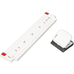 カール事務器/ゲージパンチ ホワイト/GP-2630-W|jetprice