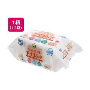 大一紙工/DN99 お食事用手口ふき 80枚×3P×12袋|jetprice
