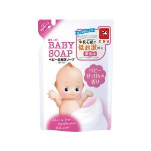牛乳石鹸/キューピー全身ベビーソープ 泡タイプ 詰替用|jetprice