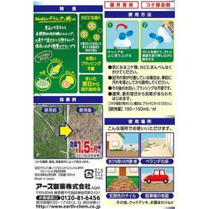 アース製薬/アースガーデン おうちの草コロリ コケ取りシャワー 1000ml|jetprice|03